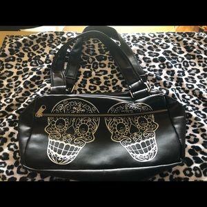 Lux De Ville Sugar Skull Bag